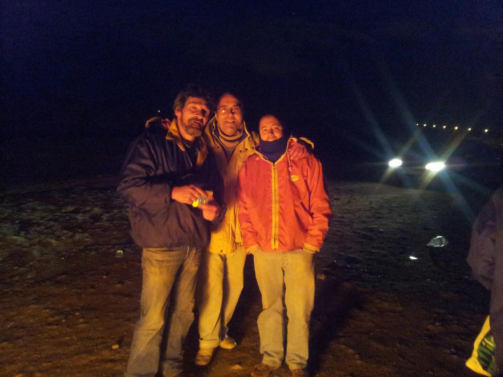 Sebas, Sandokan y Nachito