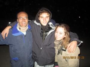 Sando, Cabello y Lucía en Bocatas